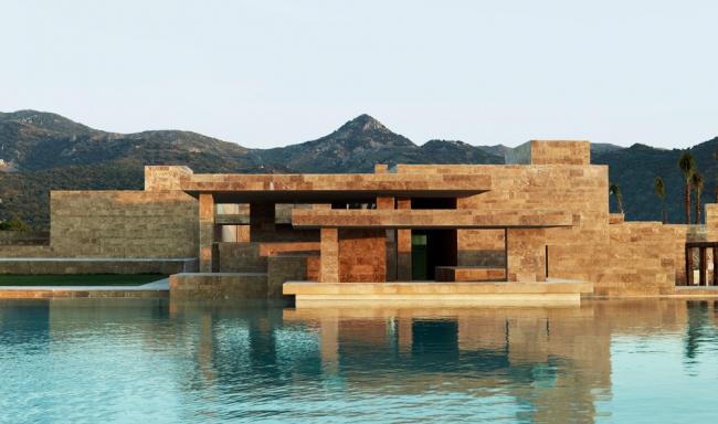 «Шоппинг» / Комплекс гавани-«марины» в Яликаваке (Турция), бюро EAA-Emre Arolat Architects. Изображение предоставлено WAF