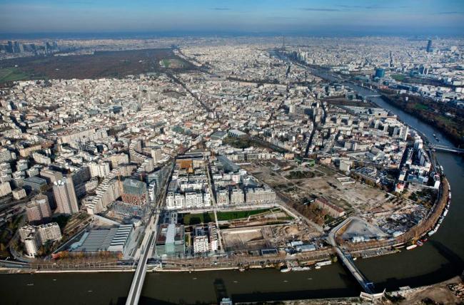 Парк парижского района Булонь-Бийянкур. Изображение с сайта www.aaupc.fr