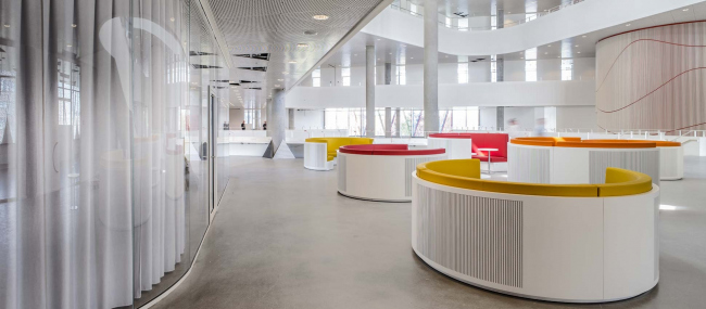 Кампус Университета Южной Дании в Кольдинге © Jens Lindhe