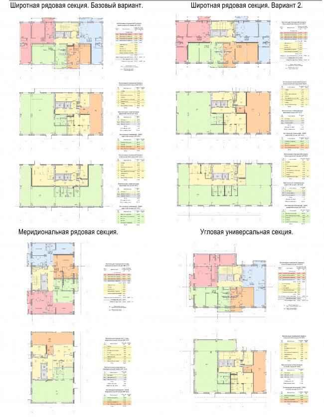 Полносборная панельно-каркасная серия жилых домов ТА-714-001.  Заказчик: компания «Главмосстрой».  Разработчик: компания «Терра-Аури»