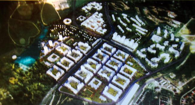 Многосекционный жилой дом на Варшавском шоссе.  Заказчик:  «ПИК-Индустрия». Проектировщик: проектное бюро «Buromoscow»