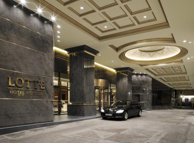 Lotte Hotel Moscow. Фото: Сергей Ананьев © Dornbracht.