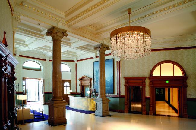 Dolder Grand Hotel. Фото: Daniel Kessler © Dornbracht