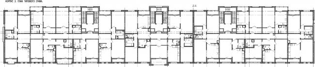 Проект многоквартирного жилого комплекса на проспекте Медиков