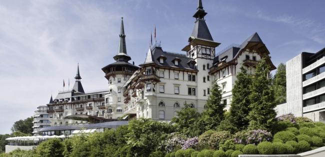 Dolder Grand Hotel. Фото с сайта reluxe.de