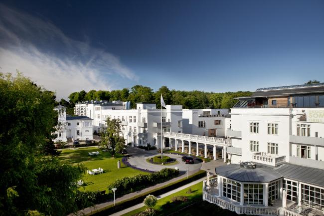 Интерьеры Skodsborg Kurhotel & SPA