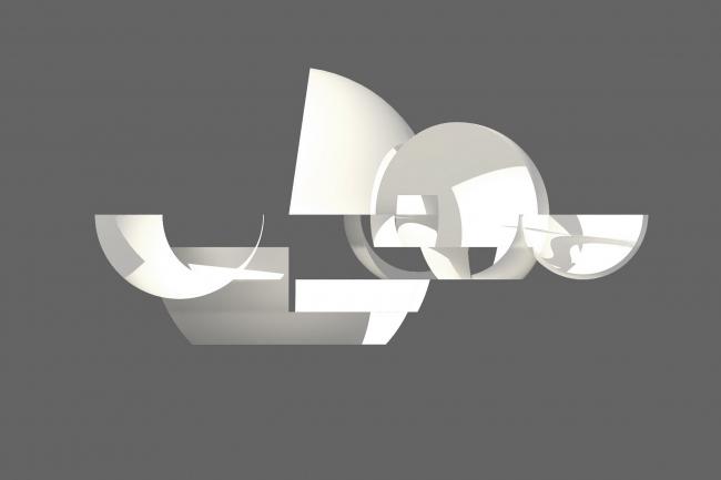 Некрополь Дзиньбаошань – Океанский павильон. Предоставлено Steven Holl Architects