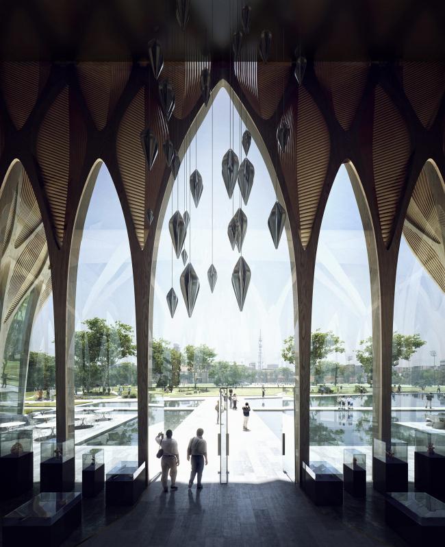 Институт Sleuk Rith © Zaha Hadid Architects