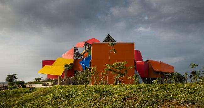 Biomuseo – музей биоразнообразия. Фото © Fernando Alda. Предоставлено Biomuseo