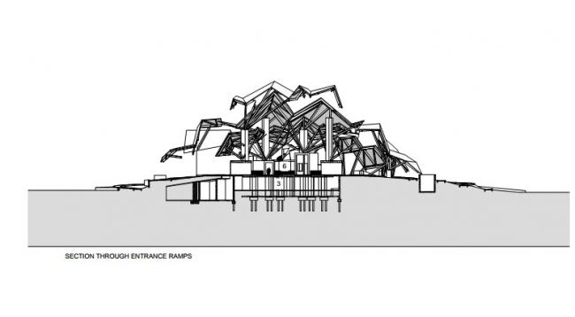 Biomuseo – музей биоразнообразия. Courtesy of Gehry Partners