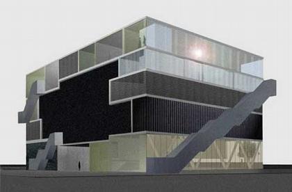 Эффенар культурный центр. Визуализация