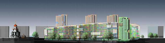 Жилой комплекс «Гулливер» © Архитектурное бюро Асадова