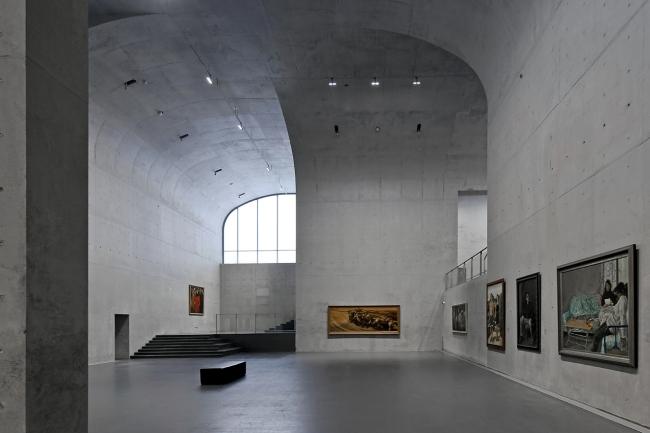 Музей Лун в районе Вест-Бунд © Su Shengliang. Предоставлено Atelier Deshaus