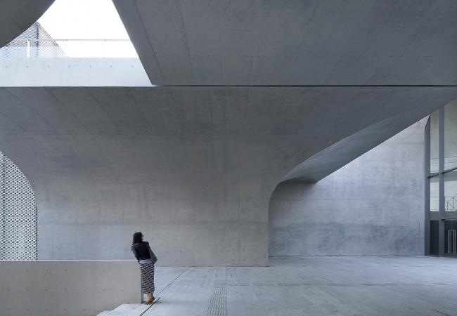 Музей Лун в районе Вест-Бунд © Xia Zhi. Предоставлено Atelier Deshaus