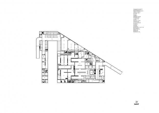 Музей Лун в районе Вест-Бунд © Atelier Deshaus
