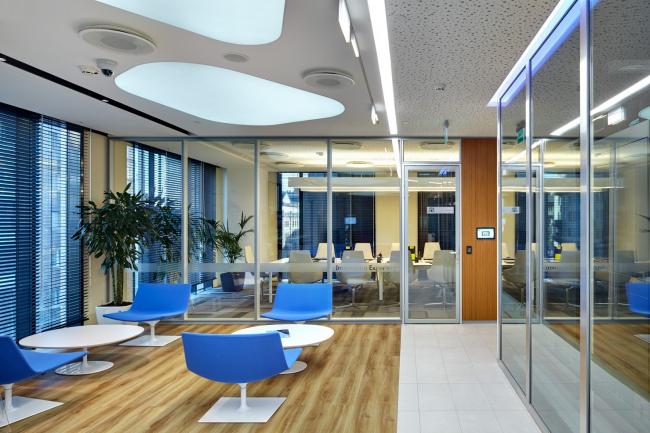 Московский технологический центр Microsoft. Входная зона © UNK project