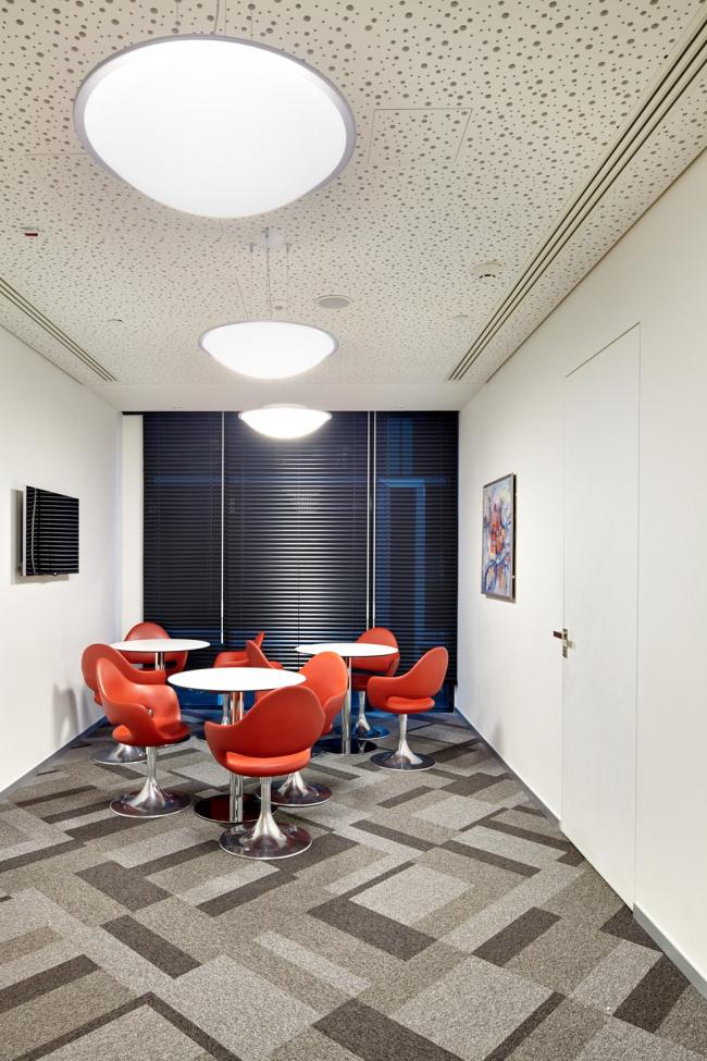 Московский технологический центр Microsoft. Зона отдыха © UNK project
