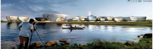 Проект комплекса «Земля Олонхо» в Якутии © АБ «Атриум»