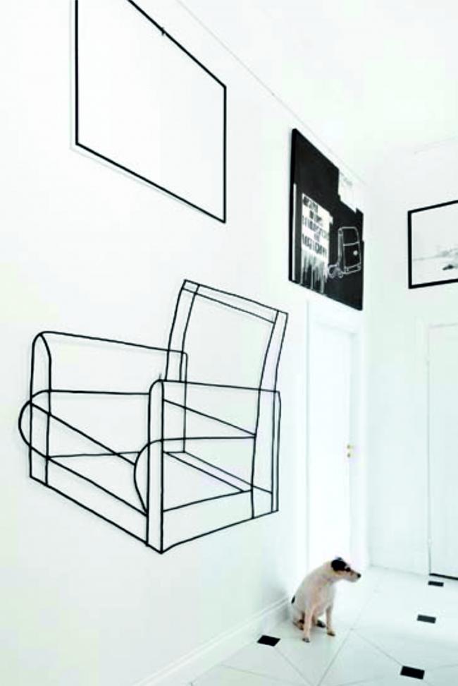Квартира французского коллекционера Пьера-Кристиана Броше. Фотография предоставлена компанией ARCH-SKIN