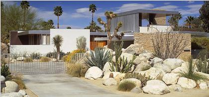 Ричард Нойтра. Дом Кауфмана (1946-1947). Палм-Спрингс, США