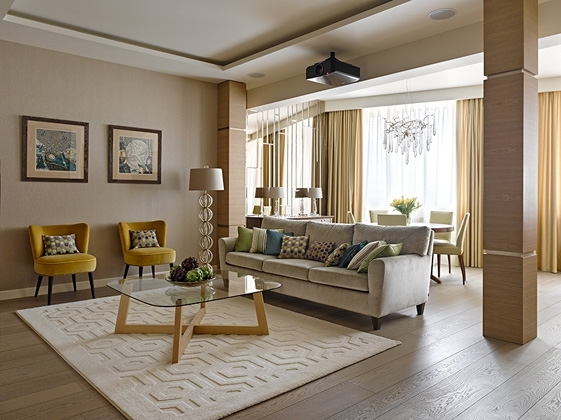 Primavera Apartment. Olga Glazunova Interiors (Art Impress Ltd.) Изображение: glazunova.com