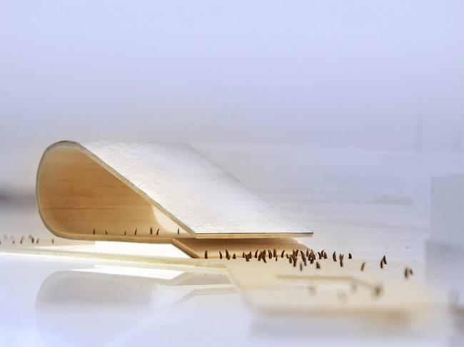 Проект 1-го тура конкурса на концепцию музея Гуггенхайма в Хельсинки. Изображение: designguggenheimhelsinki.org