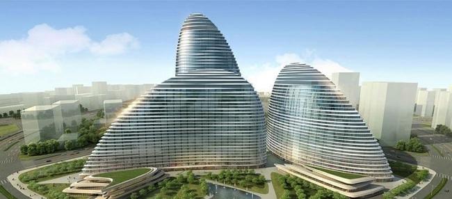 "Комплекс ""Ванцзин Soho"" © Zaha Hadid Architects"