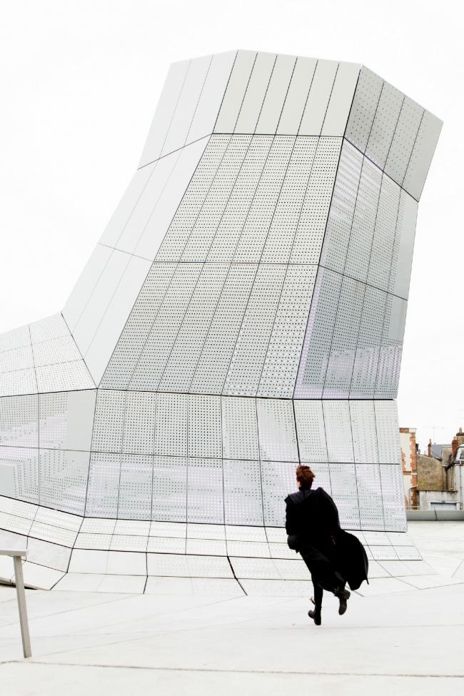 Здание FRAC региона Центр © Jakob+MacFarlane. Фото: Géraldine Aresteanu