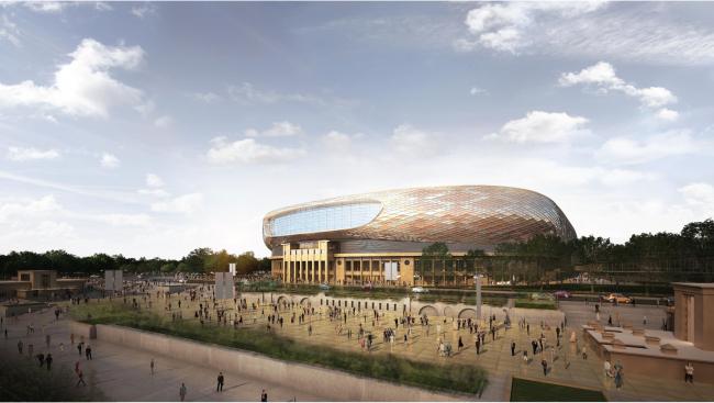 ВТБ Арена парк. Проект реконструкции территории стадиона «Динамо». SPEECH