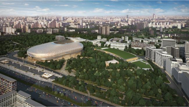 Реконструкция стадиона «Динамо». ВТБ Арена Парк. Проект