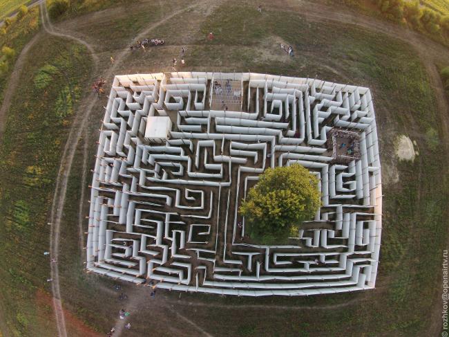 Сад Знаний, вид с квадрокопетра. Фотография © Василий Рожков