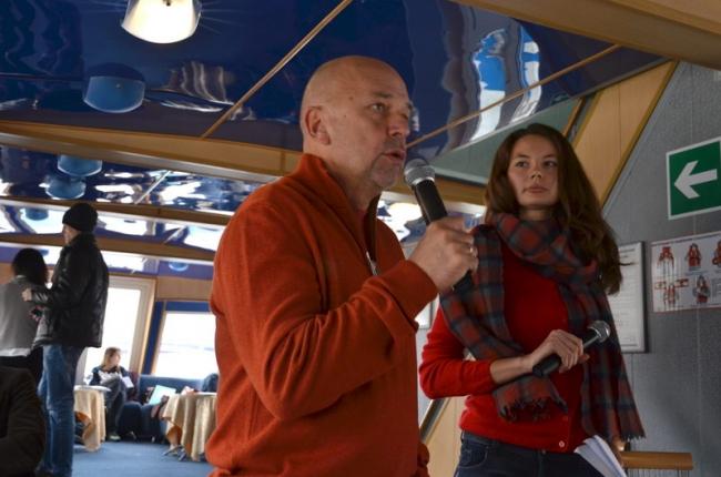 Алиса Белякова и Андрей Гнездилов. Фотография © Елена Петухова