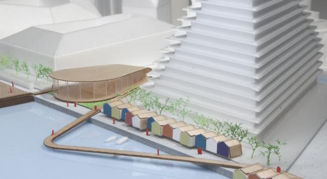 Basin 7–реконструкция гавани в Орхусе © BIG