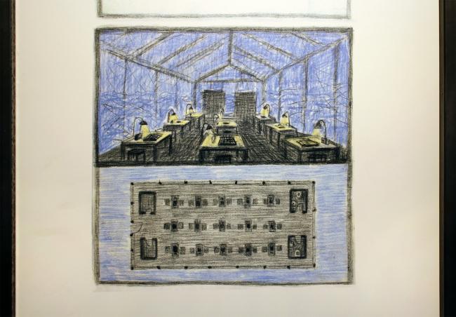 Александр Бродский. Антарктика: шахматный павильон. Antarctopia, Венеция, биеннале архитектуры, 2014. Фотография © Юлии Тарабариной