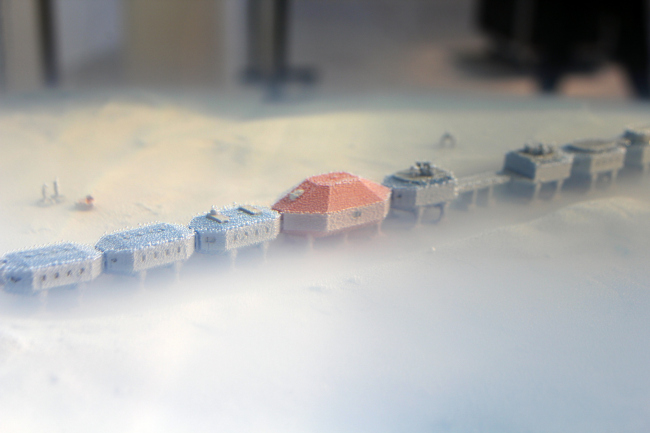 Мариэль Ньюдекер. Некоторые вещи случаются все сразу (2014). Antarctopia, Венеция, биеннале архитектуры, 2014. Фотография © Юлии Тарабариной