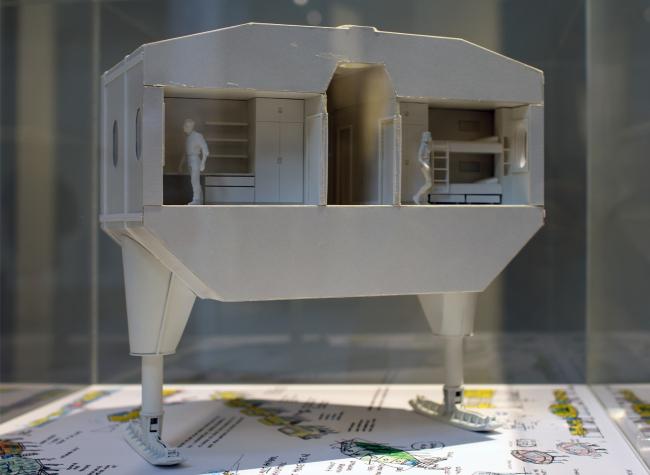Хью Бротон. Жизнь в морозильнике. Antarctopia, Венеция, биеннале архитектуры, 2014. Фотография © Юлии Тарабариной