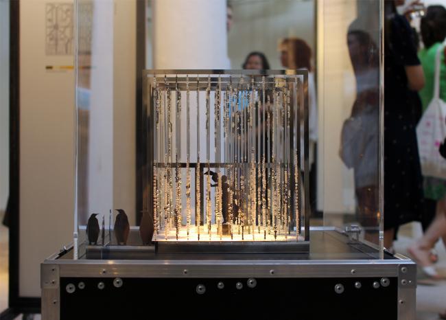 Лиза Винтова. Ландшафтный объект наземные ссылки. Antarctopia, Венеция, биеннале архитектуры, 2014. Фотография © Юлии Тарабариной