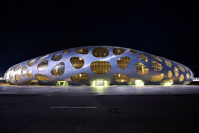 Стадион клуба БАТЭ в Борисове