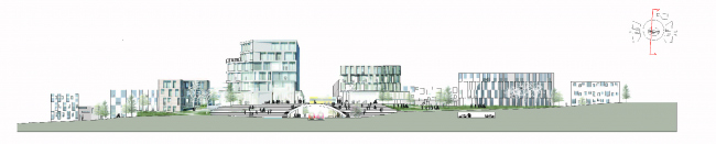 Железнодорожная станция в Винге © Henning Larsen Architects