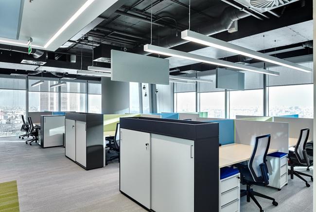 Офис Алкогольной сибирской группы. Рабочие пространства © UNK project