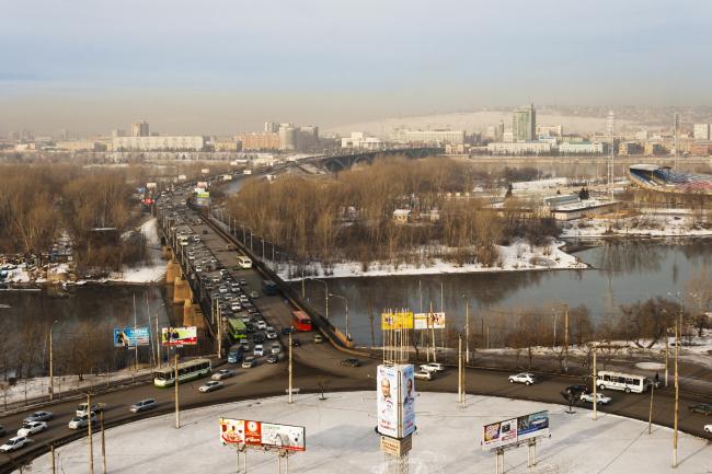 Панорама Красноярска. Фотография © Сергей Филинин  http://feelek.livejournal.com