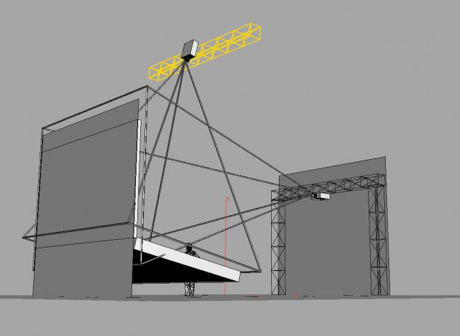 Схема световой экспозиции на Зодчестве / предоставлено Антоном Шаталовым