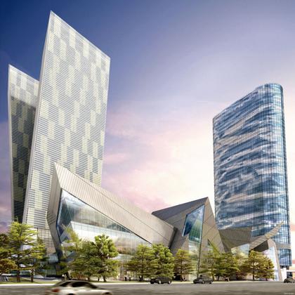 Tорговый центр комплекса CityCentre