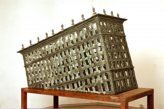Вид экспозиции с работой Александра Бродского. Фотография предоставлена музейно-выставочным центром РОСИЗО