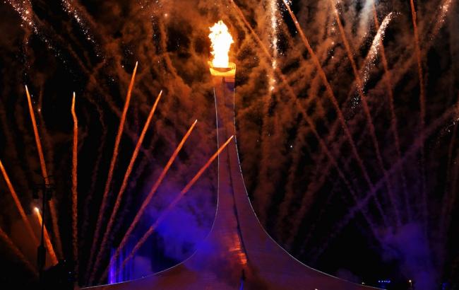 Sochi Olympik fire. Фото – Шемякин Максим, генеральный директор компании Бауметалл.