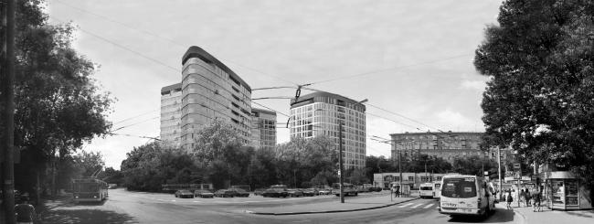 Жилой комплекс на Песчаной улице © Четвертое Измерение