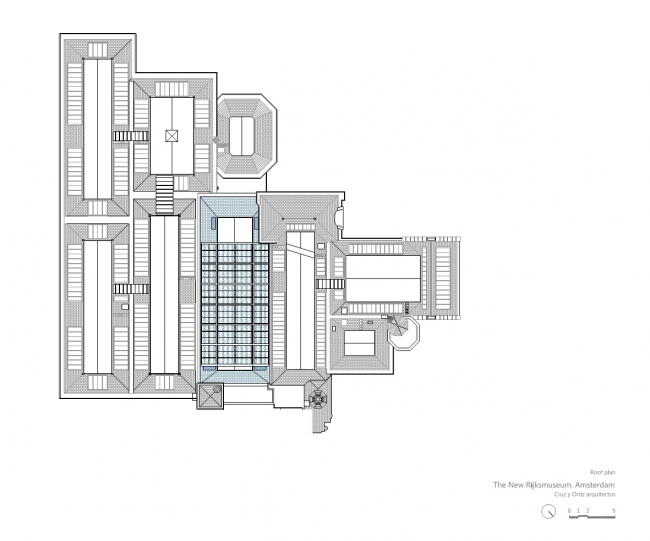 Рейксмузеум – крыло Philips © Cruz y Ortis