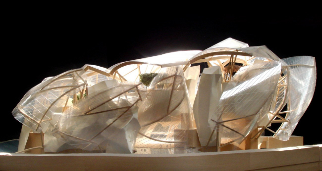 Фонд Louis Vuitton © Gehry Partners LLP