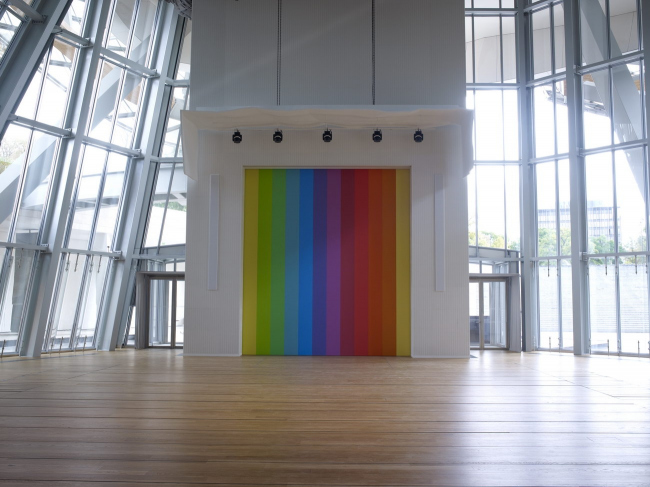Фонд Louis Vuitton. Эльсворт Келли. Спектр VIII © Ellsworth Kelly / Fondation Louis Vuitton / Marc Domage