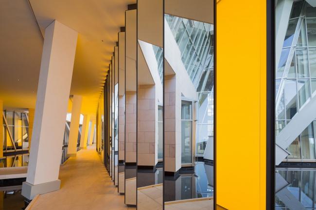 Фонд Louis Vuitton. Олафур Элиассон. Внутри горизонта © 2014 Olafur Eliasson / Iwan Baan